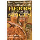 Vintage Better Homes & Gardens Cooking With Herbs & Spices Cookbook 1969