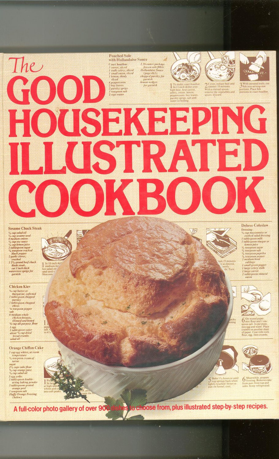 The Good Housekeeping Illustrated Cookbook Hard Cover 0878510370