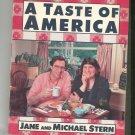 A Taste Of America Cookbook By Jane & Michael Stern 0836221265