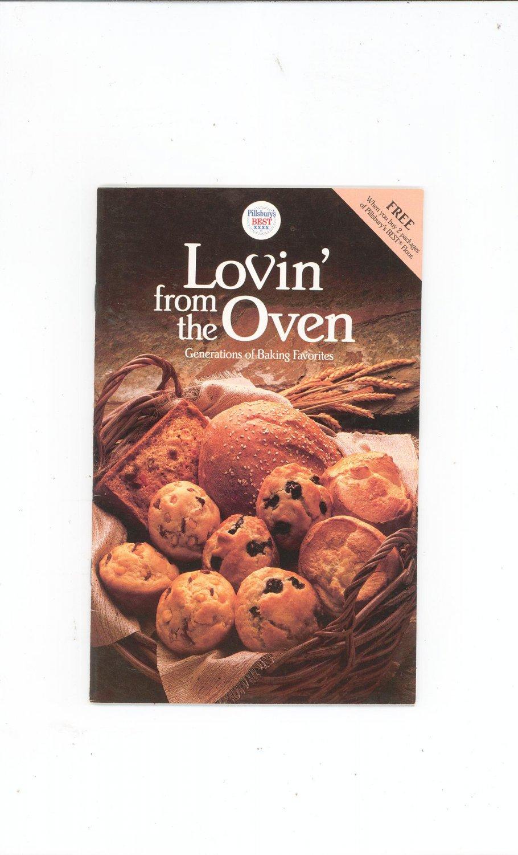 Pillsbury Lovin From The Oven Cookbook Baking Favorites 1987
