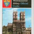 Vintage Westminster Abbey Official Guide New & Revised 1966
