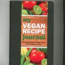 My Vegan Recipe Journal by Mara Conlon 9781441305237