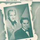How Soon ? Will I Be Seeing You Sheet Music Vintage Supreme Music Corporation