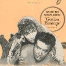 Golden Earrings Sheet Music Vintage Paramount Music Corporation