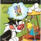 USA Philatelic Magazine Summer 1998 Sylvester & Tweety Stamp