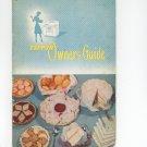 Vintage Tappan Owner's Guide & Cookbook Manual Number 60 & 70 Series Gas Range