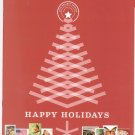 USA Philatelic Magazine / Catalog Happy Holidays 2010 Stamp