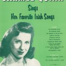 Carmel Quinn Sings Her Favorite Irish Songs Music Book Vintage