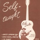 Guitar Self Taught Deluxe Edition by Ed Sale Vintage