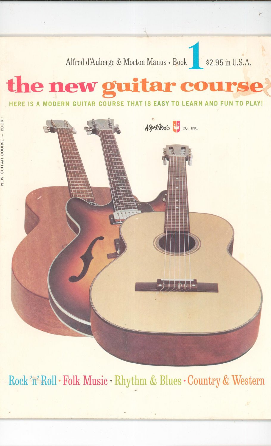 The New Guitar Course Book 1 Alfred Music