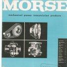 Morse Mechanical Power Transmission Products Catalog B20-60 Vintage