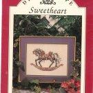 Dreamscape Sweetheart Cross Stitch by Teresa Wentzler Rocking Horse Leaflet 6