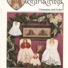 Heartstrings Cinnamon And Cedar by Pat Thode The Artists Collection AC-55 Cross Stitch Angels