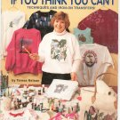 How To Fabric Paint If You Think You Can't by Teresa Nelson Hot Off The Press HOTP 720