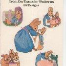 Peter Rabbit Iron On Transfer Patterns by Julie Hasler 88 Designs 0486253538