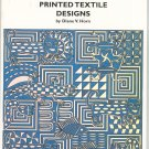 African Printed Textile Designs by Diane V. Horn 0880451351