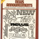 Ready To Use News Announcements by Jean Larcher Dover Clip Art 0486241734