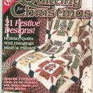 The Quilter Magazine Back Issue Winter 2003 Quilting For Christmas With Pattern All Skill Levels