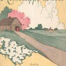 Mississippi Cradle Sheet Music Vintage Forster Music Publisher