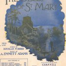 The Bells Of St. Mary Sheet Music Vintage Chappell & Co. Inc.