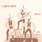 Cuban Mambo Piano Solo Sheet Music Vintage Belwin Inc.