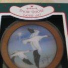 Hallmark Snow Goose Ornament 1987 With Box