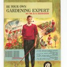 Vintage Be Your Own Gardening Expert by Dr. D. G. Hessayon 6th Impression