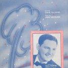 Shake Down The Stars Vintage Sheet Music Brigman Vocco & Conn Inc.