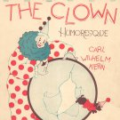 The Clown Humoresque Vintage Sheet Music Oliver Ditson Co.