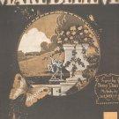 Make Believe Vintage Sheet Music Waterson Berlin & Snyder Co.