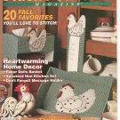 Plastic Canvas Magazine Back Issue Number 16 September / October 1991