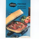 Vintage Sunbeam Frypan Recipes & Instructions Cookbook 1978