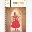 Vintage Kodak Color Photography Outdoors Color Data Book E 75 1965