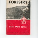 Vintage Boy Scouts Of America Forestry Merit Badge Series Book BSA