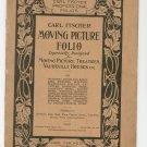 Moving Picture Folio Carl Fischer Professional 1 Violin Vintage