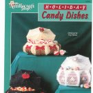 Needlecraft Shop Holiday Candy Dishes Plastic Canvas Craft Leaflet
