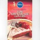 Pillsbury For Chocolate Lovers Cookbook 0824182057