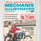 Mechanics Illustrated Magazine June 1970 Vintage New Motor Bikes In Full Color