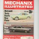 Mechanics Illustrated Magazine September 1970 Vintage Ford Pinto Chevy Vega 1971 Cars