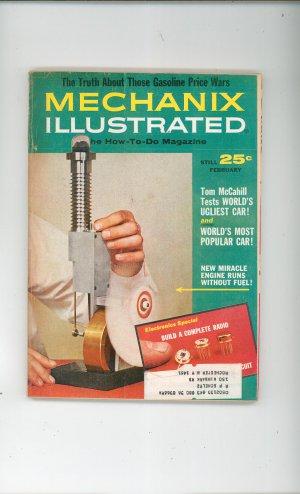Mechanics Illustrated Magazine February 1965 Vintage Engine Runs Without Fuel