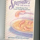 Specialties Of The House Cookbook Regional Chicago House & Social Service 1556520263
