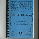 Cherished Recipes Cookbook Regional Mount Vernon Presbyterian Church