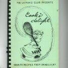 Cooks Delight Cookbook Regional Woman's Club Unadilla New York Vintage