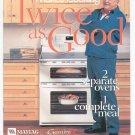 Maytag Gemini Makes Cooking Twice As Good Cookbook