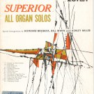 Superior All Organ Solos by Brubeck Irwin Miller Series 20