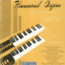 Hits Through The Years For Hammond Organ by Mark Laub Vintage