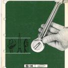 S K Dresser Vintage Catalog Number 91509 S&K S-K 1969