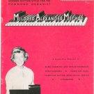 Mildred Alexander Method Book 5 Hammond Organ Vintage 1962