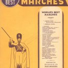The World's Best Album Of Marches Amsco Publishing Vintage Series Number 11