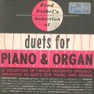 Fred Feibel's Selection Of Duets For Piano & Organ Music Books Lot Of 2